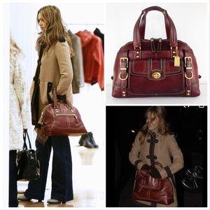 Coach XLARGE Hamptons Miranda Pebble Leather Bag